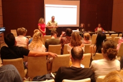 wrap-up and project presentation on Costa Navarino!